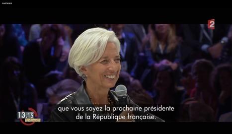 Laurent Delahousse et Christine Lagarde parlent du Women's Forum Global Meeting 2014 sur le 13h15 ! Un aperçu de ce qui vous attend en octobre prochain à la 7e minute :) | Worldwide Women leaders | Scoop.it