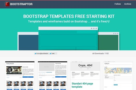 40 Bootstrap Tools and Generators for Web Developers | Twitter Bootstrap How To | Scoop.it