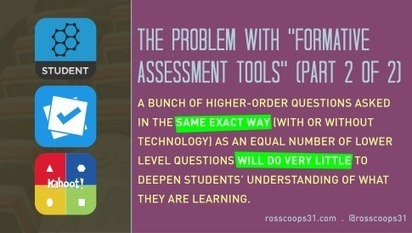 "The Problem with ""Formative Assessment Tools"" (part 2 of 2) 