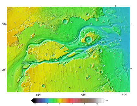 Tracing the origin of ancient water flows on Mars in the lab | Geology | Scoop.it