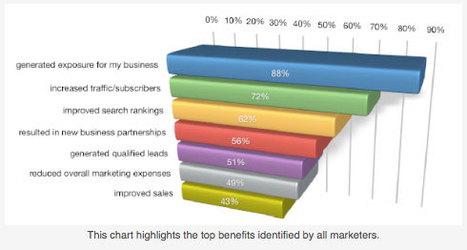 Comment Les Entreprises Utilisent Les Médias Sociaux En 2011 ? Etude | nouveaux continents | Scoop.it