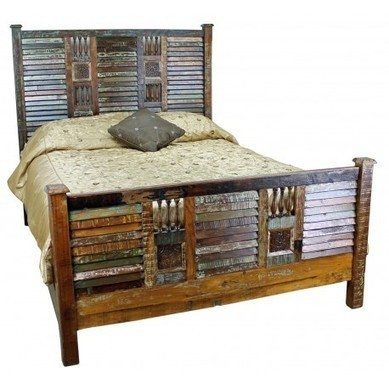 Rustic Wood Beds   Mexican Furniture & Decor   Scoop.it
