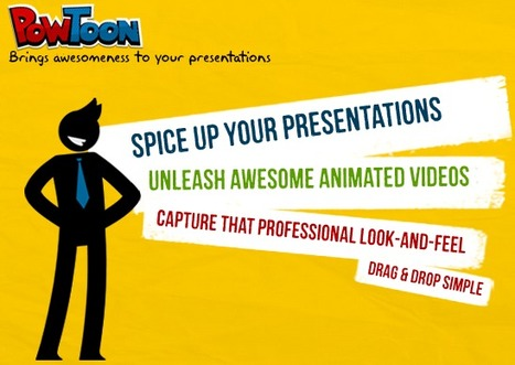 PowToon - Brings Awesomeness to your presentations | TICE & FLE | Scoop.it