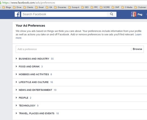 Ad Preferences | Facebook for Business Marketing | Scoop.it