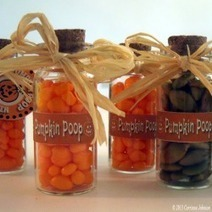 Pumpkin Poop Mini Bottle Craft With Printable Poem And Tags | Halloween Crafts, Decorations, Costumes And Treats | Scoop.it