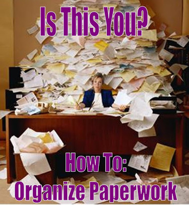 Organization 2013: Paperwork - What to Keep & Toss and How to Store | Organized Office | Scoop.it