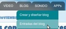 En la nube TIC: Poner pestañas desplegables en el menú horizontal de Blogger | Tic, Tac... y un poquito más | Scoop.it