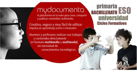 E-portofolios con Mydocumenta | Ideas y recursos tic para el aula | Scoop.it