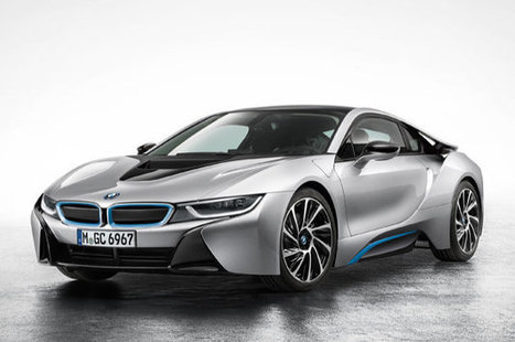 BMW i8 fully revealed ahead of Frankfurt debut | What Surrounds You | Scoop.it