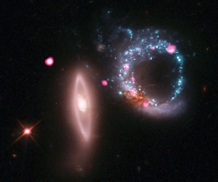 Chandra :: Photo Album :: Arp 147 :: February 9, 2011. | Science's | Scoop.it