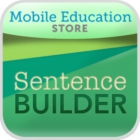 SentenceBuilder™ for iPad | From Classroom to Home: Extend Learning with Mobile Device Apps: K-5 Reading and Writing | Scoop.it