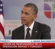 """Obama on failed Mexico drug policy and 'Fast & Furious' debacle: """"Should you 'fire' Eric Holder?"""" (VIDEO) 