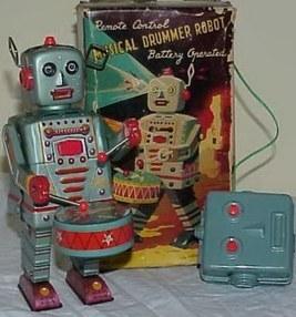 Ozzie's Robots Toys & Collectibles   Vintage, Robots, Photos, Pub, Années 50   Scoop.it