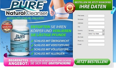 Pure Natural Cleanser Review - Reinigen ihre Körper von Innen Heraus! | Get a Clean and Healthy Body! | Scoop.it