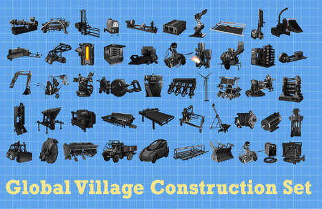 Machines: Global Village Construction Set | Open Source Ecology | Smart devices and technology solutions | Scoop.it