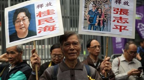 Hong Kong: Thousands rally over missing booksellers - BBC News | What Fascinates Me About China | Scoop.it