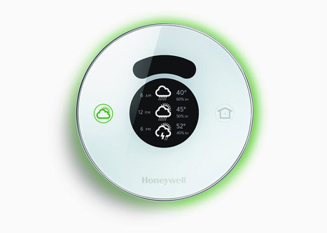 honeywell joins the connected-home party with smart 'lyric' thermostat - designboom | architecture & design magazine | Manufacturing In the USA Today | Scoop.it