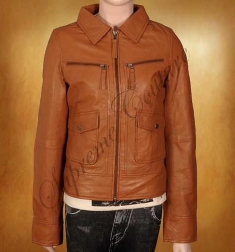 Siren Women Panther Leather Jacket is a first class smart outwear | WOMEN JACKETS | Scoop.it