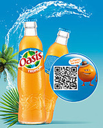 Oasis «tropical» arrive dans les bars avec une bouteille en verre | Actualité de l'Industrie Agroalimentaire | agro-media.fr | Scoop.it