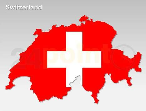 Switzerland Map - Editable PPT   PowerPoint Presentation Tools and Resources   Scoop.it