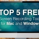Top 5 Free Screen Recording Tools for Mac and Windows » eLearning Brothers |  e-Learning Bookmarking Service - e-Learning Tags | All about e-learning.... | Scoop.it
