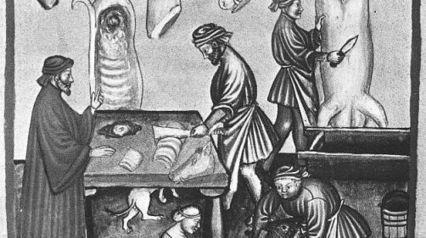 Bouchers au Moyen-âge : une puissance sans contrôle ? | Florilège médiéval | Scoop.it