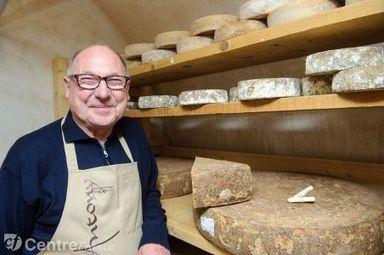 Bernard Antony, affineur, le fromage pour religion - lepopulaire.fr | Un monde laitier | Scoop.it