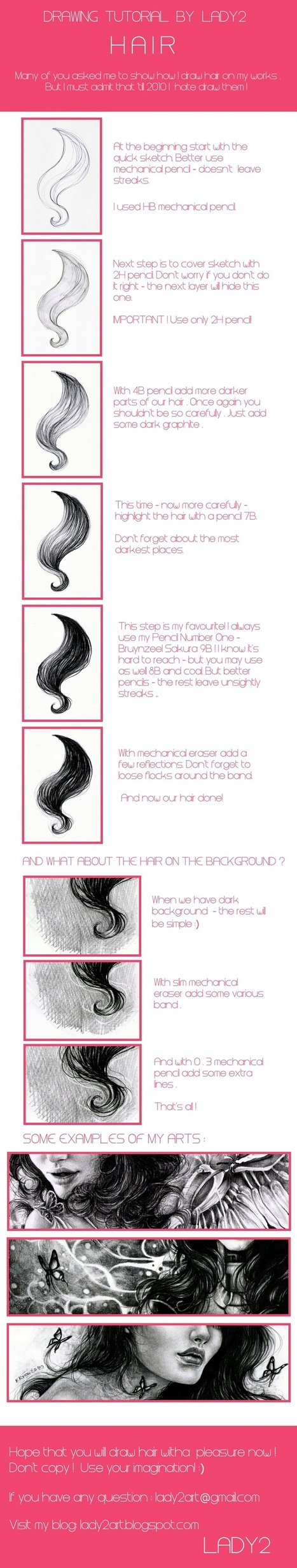 Guida al disegno dei capelli | Circolo d'Arti | Scoop.it