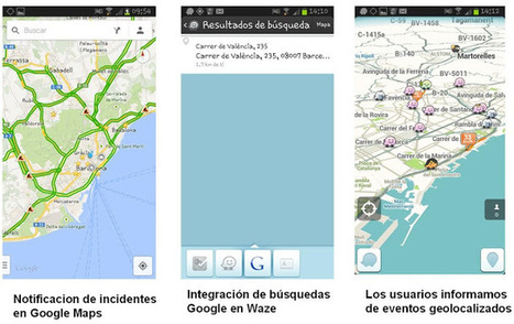 Geoinformación: Google Maps añade avisos de incidentes de Waze en tiempo real | #GoogleMaps | Scoop.it