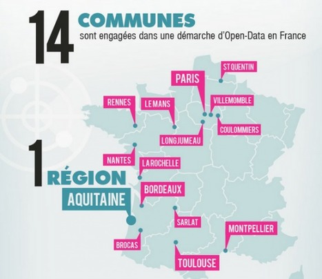 [Infographie] Panorama de l'open data en France - FrenchWeb.fr ... | Map@Print | Scoop.it