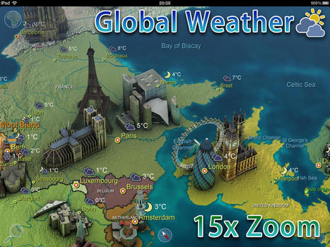 Earth 101 for iPad: The Entire Globe at Your Fingertips | App Chronicles | Edtech PK-12 | Scoop.it