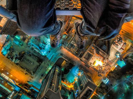 Ils grimpent sur des immeubles pour se prendre en photo et le résultat est magnifique ! | Instantanés | Scoop.it