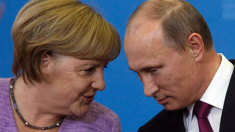 On Ukraine, Merkel Finds Limits of Her Rapport With Putin | Russia | Scoop.it