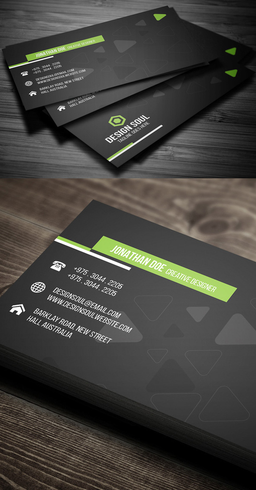 25 Professional Business Cards Template Designs   Design   Graphic Design Junction