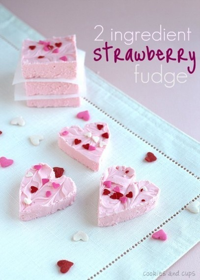 Easy Valentine's Strawberry Fudge Recipe | Creative and Inexpensive Party Planning Ideas | Scoop.it