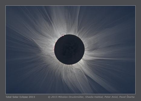 Couronne solaire au #Svalbard #Spitzberg #éclipse   Hurtigruten Arctique Antarctique   Scoop.it