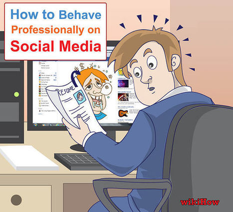 Image:Behave Professionally on Social Media Intro.jpg - wikiHow | Techy Stuff | Scoop.it