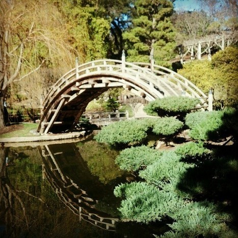 Japanese garden at Huntington. (at The... | Japanese Gardens | Scoop.it
