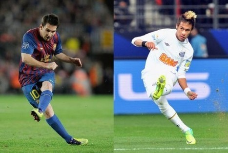 Messi vs Neymar, who is the best? | Going to Brasil | 2014 World Cup | Scoop.it