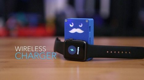 This 3D Printed Wireless Apple Watch Charger Can Be Made Yourself | Makers and Future Electronics | Scoop.it