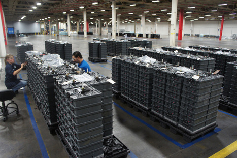 Behind the scenes of Aquion Energy's battery factory & the future of solar storage | leapmind | Scoop.it
