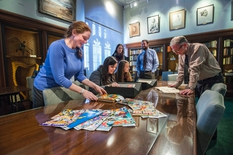 Boston College Students' Exhibit Shows Comic Books' Historical, Cultural Value | School Library Teachers: Collaborators of Knowledge | Scoop.it