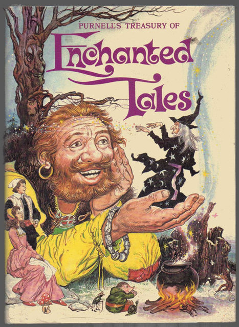 Vintage 1978 Purnell's treasury of Enchanted Tales. First edition. In very good condition. | Retrofanattic's articles and items for sale | Scoop.it