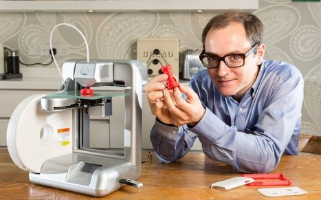 With 3D printers, you can change the world (or at least mend a train set) | composites | Scoop.it