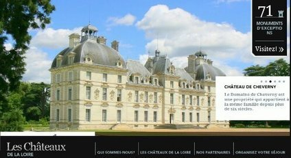 Site web @ Les Châteaux de la Loire | Revue de Web par ClC | Scoop.it