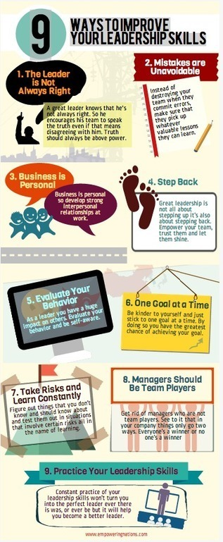 marketing personale: 14 modi per essere leader | Communication, leadership, ICT consulting | Scoop.it