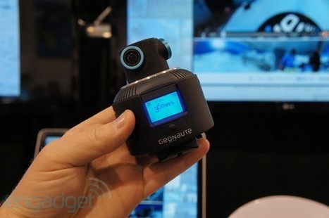 Geonaute\'s 360 degree sports camera catches all the action, even our hands on   A Few of My Favorite Things   Scoop.it