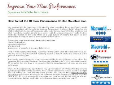 How To Improve Mac Performance   Tidy Up Mac   Scoop.it