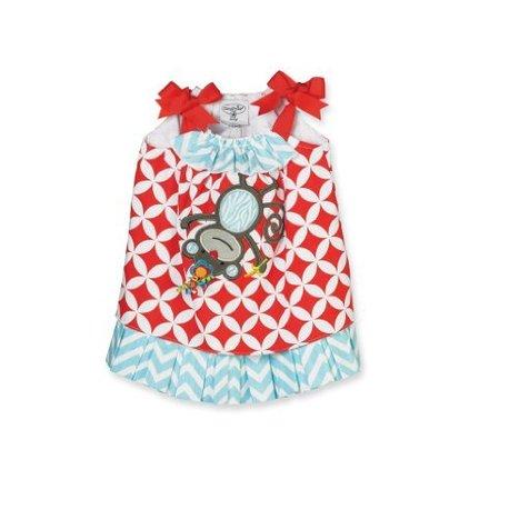 Best Price for Mud Pie Baby-Girls Newborn Safari Monkey Dress, Red, 2T-3T | Harley's bucket | Scoop.it