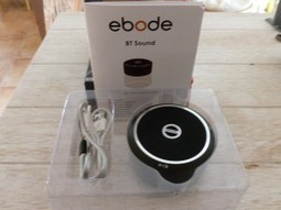 Test enceinte portable Bluetooth Ebode BTS30 | Domotique 34 | La Domotique et le Net | Scoop.it